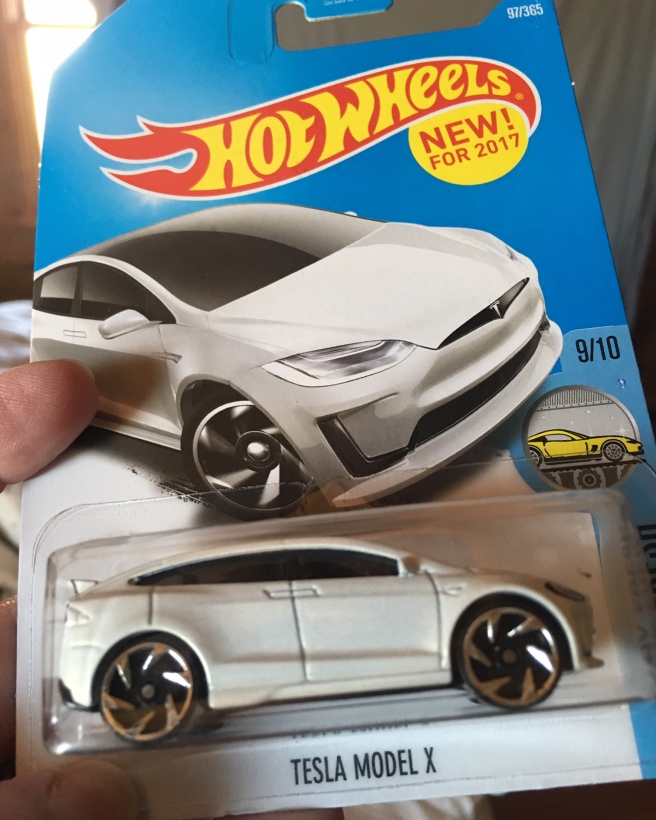 Hot Wheels Tesla